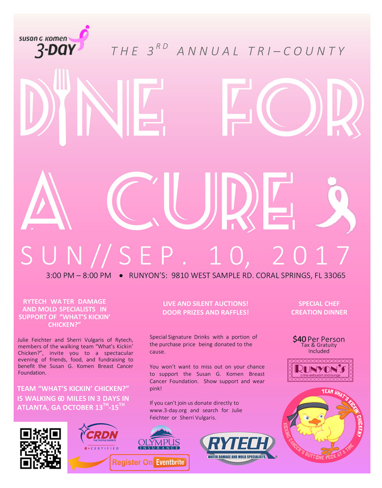 dine for a cure